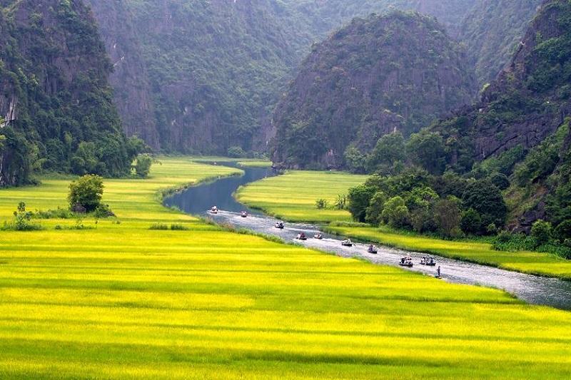 Hanoi - Hoa Lu - Baie d'Halong terrestre (Tam Coc) - Ninh Binh