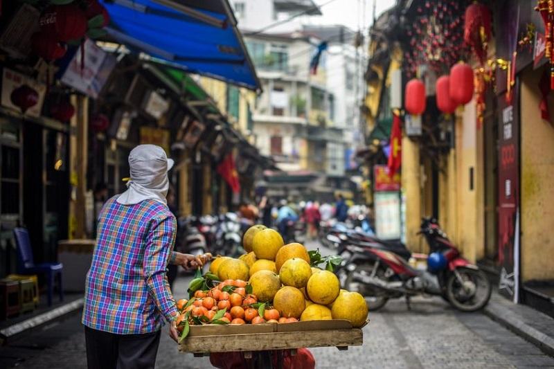Hanoi à pied - Hué (vol)