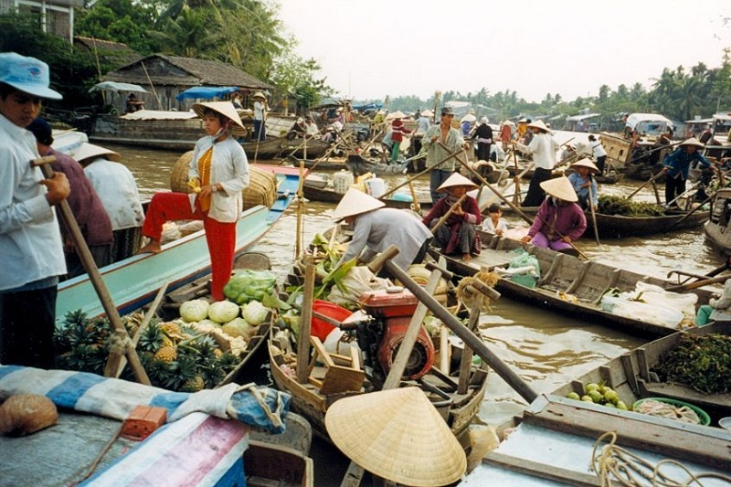 Can Tho - Marché Cai Rang - Ho Chi Minh