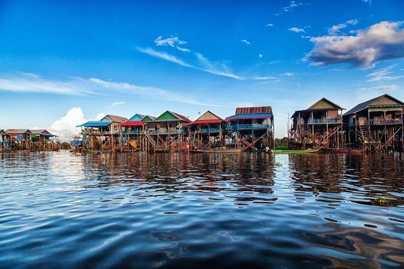 Siem Reap - Groupe de Roulos - Tonle Sap