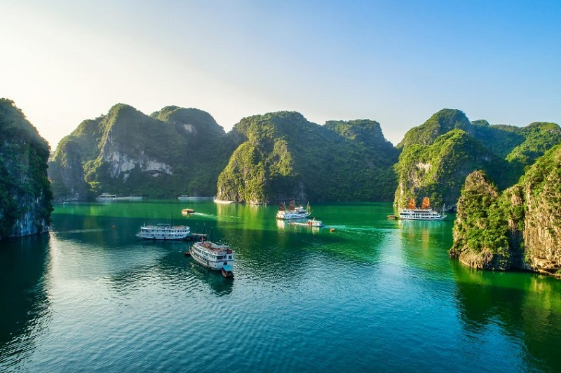 Ninh Binh - Baie d'Halong (croisière)