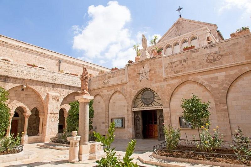 Jéricho - St-George de Koziba - Bethléem - Jérusalem