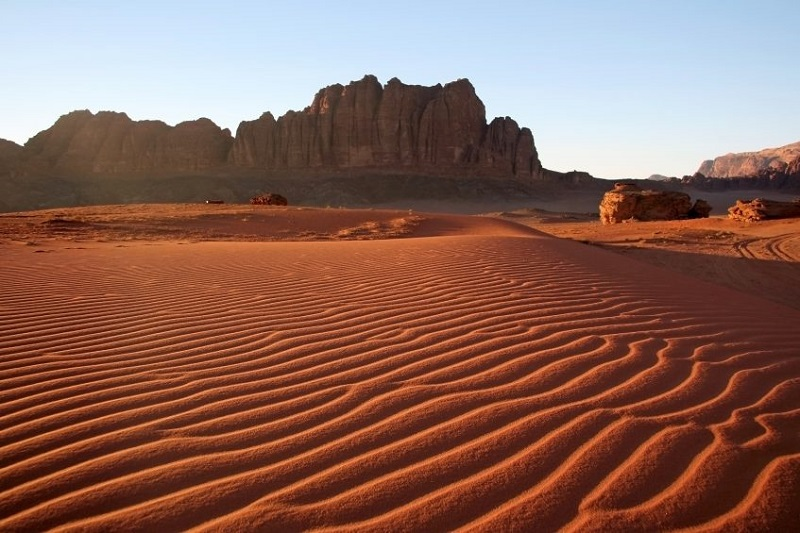 Wadi Rum - Madaba - Mont Nebo - Mer Morte