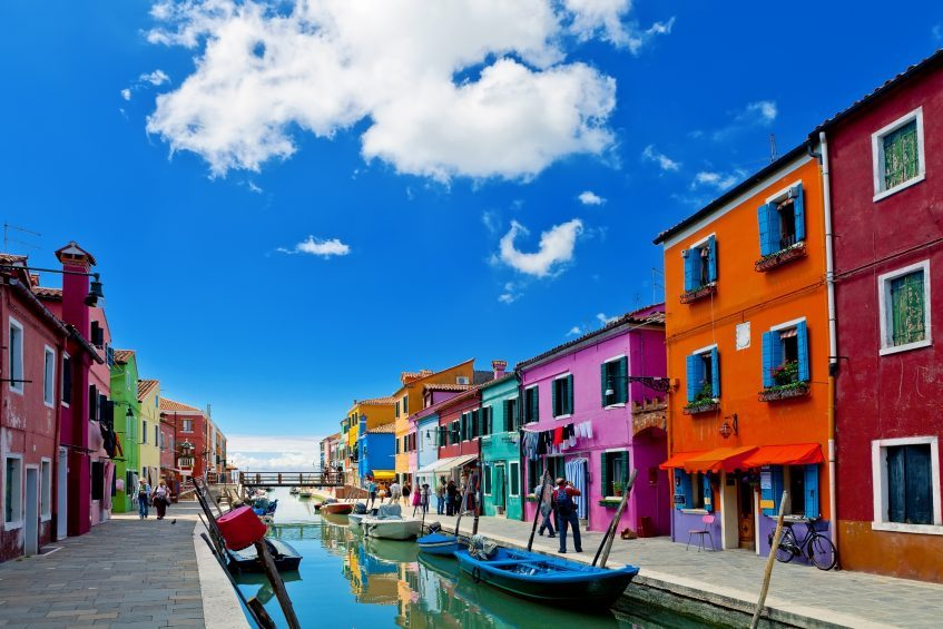 Venise  Burano - Lido de Jesolo